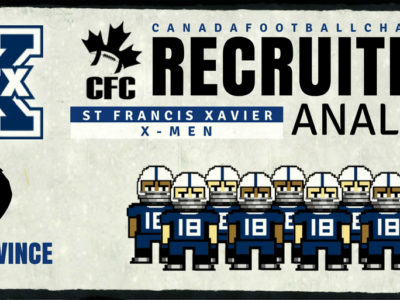 U Sports Recruiting Analysis (AUS): St. FX zero in on the trenches