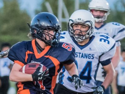 Kaleb Chassie's love for the game goes far beyond football