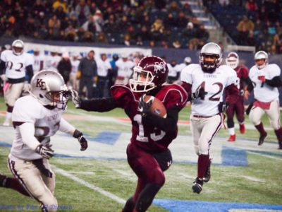 Football a family affair for WR Schnerch