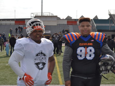 Elijah Trench (Left), Marcus Moore (Right)