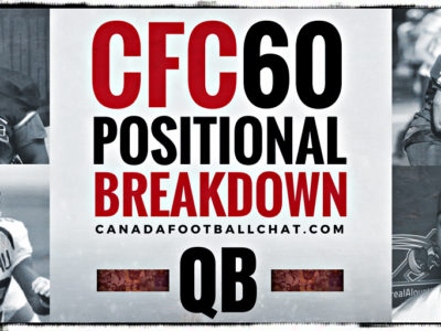 CFC60 2018 June edition: The field generals (QB)