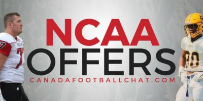 100 NCAA division 1 offers for CFC100/60s