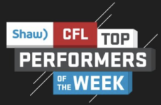 Shaw CFL top performers (19): Posey, Collaros, and Harris named