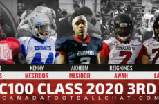 CFC100 Class 2020 3rd Edition RANKINGS