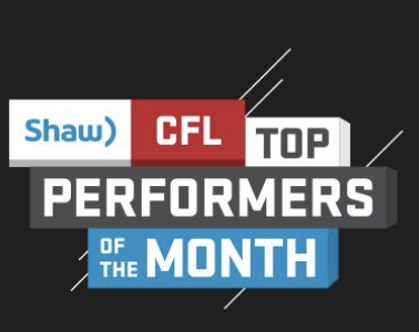 Shaw CFL top performers (OCT): Nichols, Bighill, Harris named