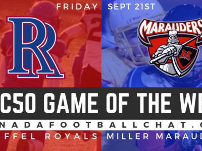 CFC50 Game of the week (SK): The 'underdogs' No. 41 Riffel looking to prove themselves against Miller