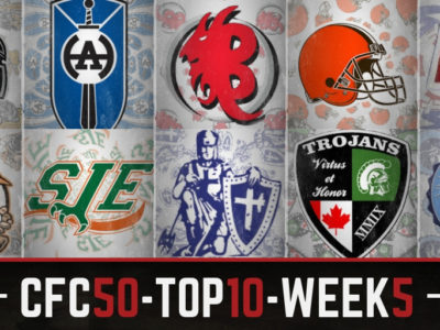 CFC50 2018 high school RANKINGS (5): Rankings rocked as head to head matchups produce a sea of red