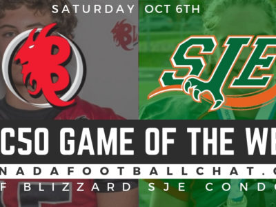 CFC50 GOTW (QC): No. 3 Blizzard take on No. 7 Condors in battle for first