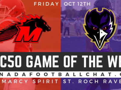 CFC50 GOTW (ON): No. 30 St. Marcy ready for another battle with No. 32 St. Roch