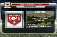 Canadafootballchat.com Prospect Game on TSN website launch