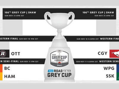 CFL matchups set: 106th Grey Cup Playoffs ready for kickoff