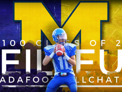 CFC100 Christian Veilleux goes one-on-one with Coach Harbaugh