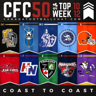 CFC50 2018 High School RANKINGS (12): Top 10 shaken and stirred