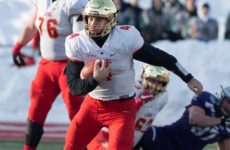 Als sign Canadian QB CFC100 Hugo Richard