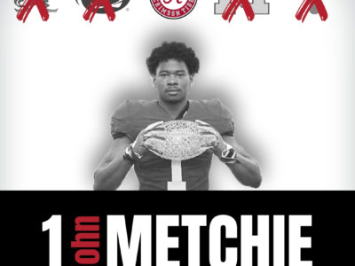 CFC100 No. 1 John Metchie signs with Alabama