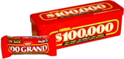Nestle 100 Grand Bar Candy Tin (discontinued)