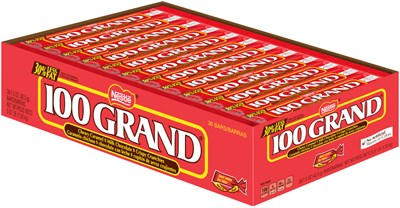 100 Grand Candy Bars 36ct