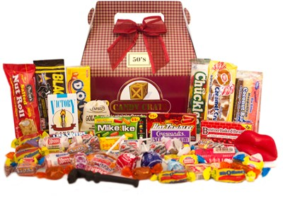 1950's Retro Candy Gift Box