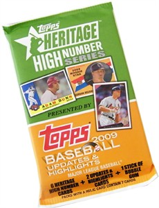 Topps 2009 Heritage High Series Baseball Cards SAVE 50% (Sold out)