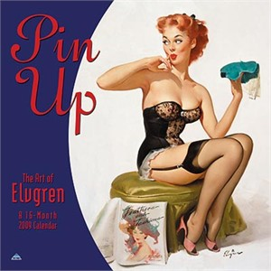 Pin Up 2009 Wall Calendar 16 - Month (sold out)
