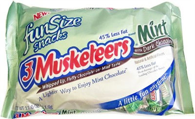 3 Muskateers Dark Chocolate Mints 11oz. (Sold Out)