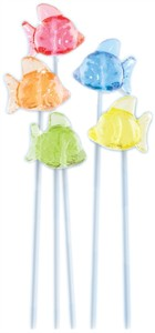3D Fish Twinkle Pops - 120ct.