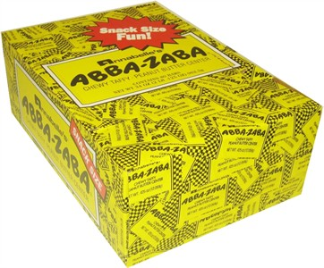 Abba Zaba Snack Size 80ct. (Discontinued)