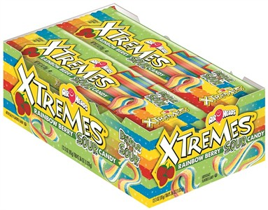 Airheads Extremes Sweetly Sour Belts 18ct