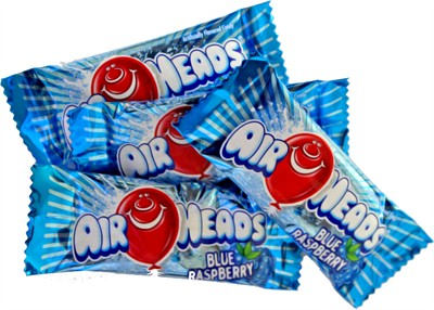 Airheads - Blue Raspberry Mini Bars - Bulk 5LB