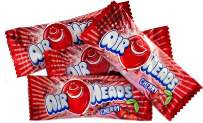 Airheads - Cherry Mini Bars - Bulk 5LB