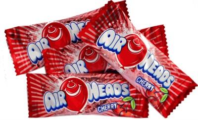 Airheads - Cherry Mini Bars Bulk 1LB
