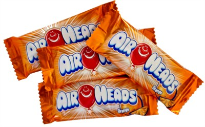 Airheads - Orange Mini Bars - Bulk 5LB (Discontinued)