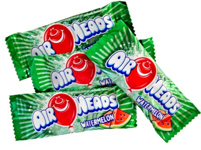 Airheads - Watermelon Mini Bars - Bulk 5LB