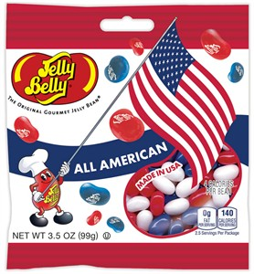 All American Mix Jelly Beans - 3.5oz