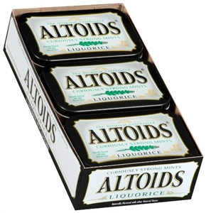 Altoids Liquorice Mints 6ct (Discontinued)