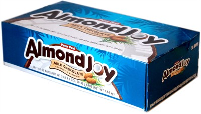 Almond Joy Candy Bars - 36ct.