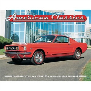 American Car Classics 2009 Wall Calendar (sold out)