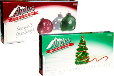 Andes Creme De Menthe Thins Holiday Box