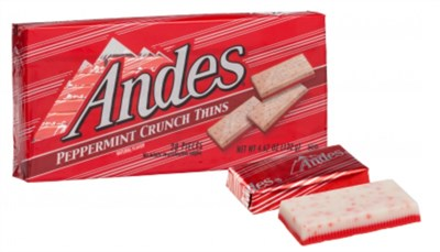 Andes Peppermint Crunch Thins Box (sold out)
