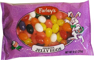 Assorted Jelly Eggs Farley's 9oz (discontinued)