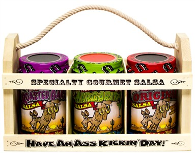 Ass Kickin' Salsa Crate Gift Set