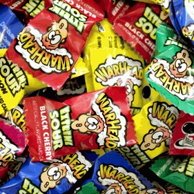 Warheads Extreme Sour Hard Candy Easter Egg Filler 1LB