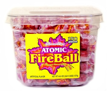 Atomic Fireballs 150ct. Tub