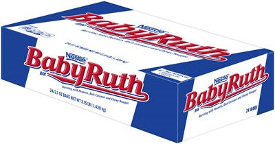 Baby Ruth Candy Bars 24ct
