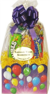 Balloon Confetti Retro Candy Basket (Sold Out)