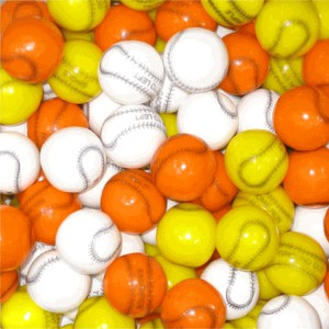 Gumballs Baseball 1-Inch Gumballs 5LB (sold out)