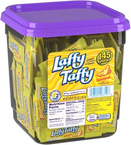 Laffy Taffy 145ct. Tub - Banana