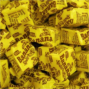 Necco Banana Split Candy Chews 1LB