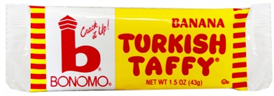 Bonomo Turkish Taffy - Banana - 2ct.
