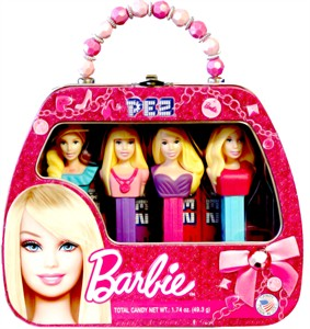 Barbie Purse PEZ Dispensers Tin (sold out)